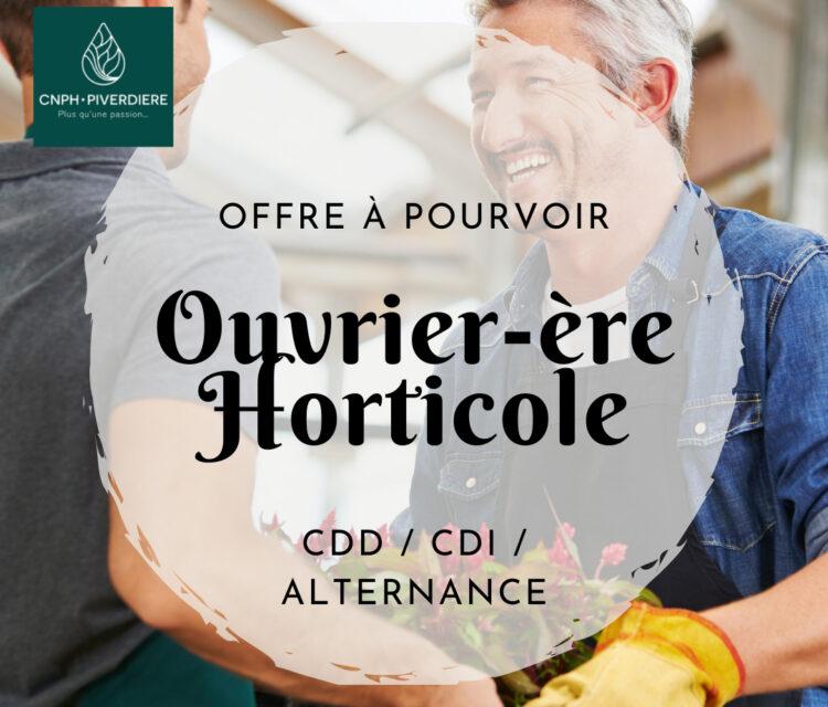 offre-d'emploi-ouvrier-horticole-pépinière-cdd-cdi-alternance